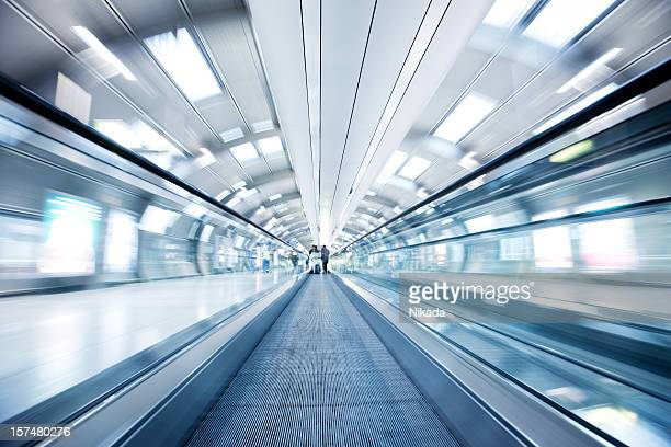 Moving Airport Walkway