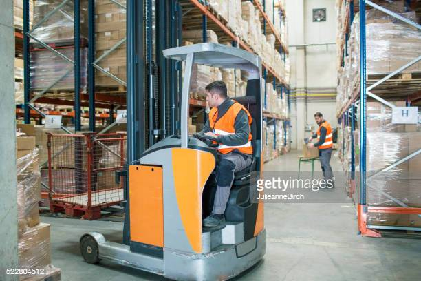 Moving around the warehouse