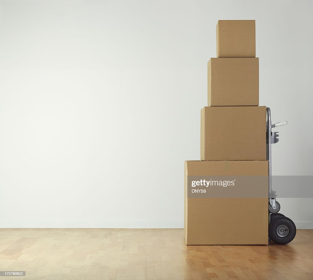 Moving Boxes : Stock Photo