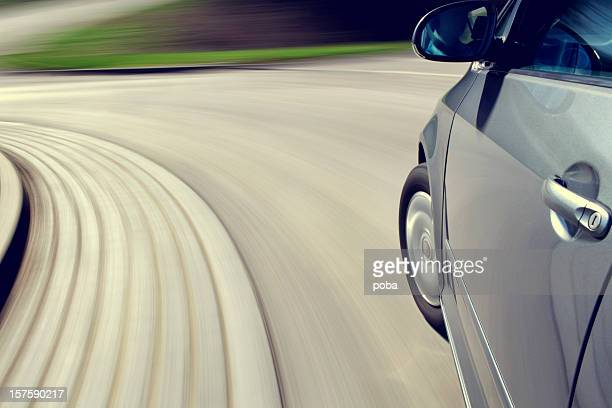 moving car - test drive stock pictures, royalty-free photos & images