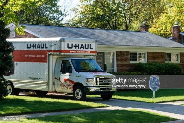 Moving Day in Rochester, Michigan