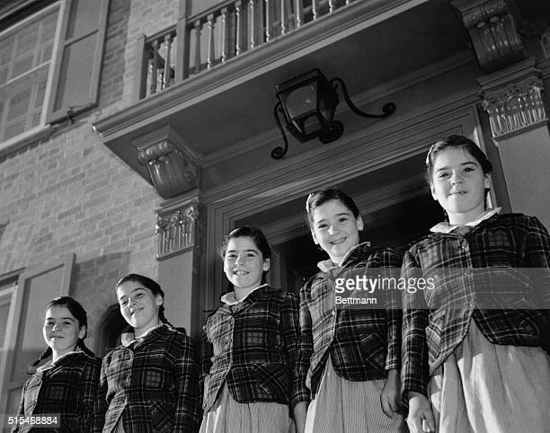 Moving Days For The Quintuplets These are moving days for the world's most famous children the Dionne Quintuplets for at least finishing touches are...