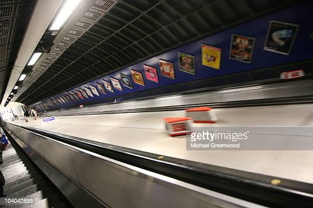 Moving Escalator, London Underground