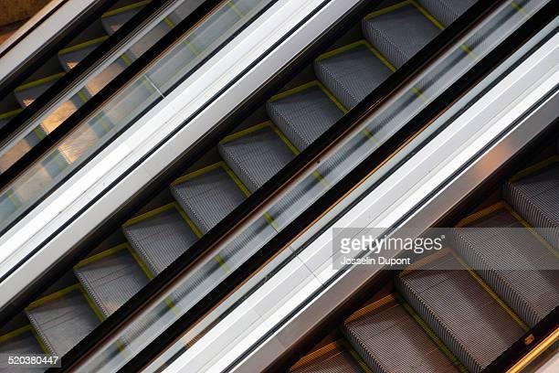 Moving escalators
