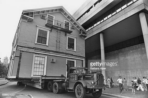 Moving house in Cambridge Massachusetts 19th July 1978