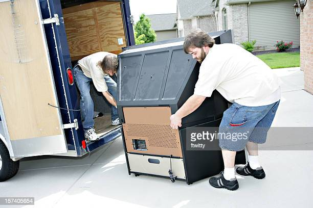 Moving Large Television