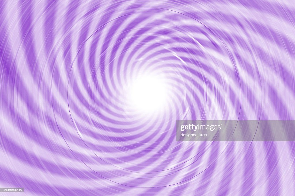 Moving Long Exposure Spiral : Stock Photo