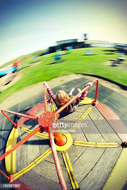 moving roundabout - scott macbride stock pictures, royalty-free photos & images
