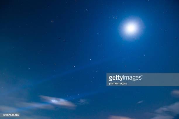 Mouvement ciel de nuit