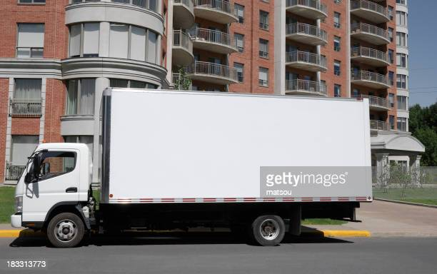 Moving truck.
