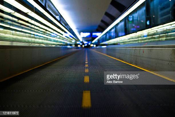 Moving walkway at Terminal 3, Dubai