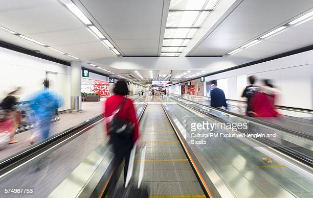 Moving walkway, Hong Kong Airport