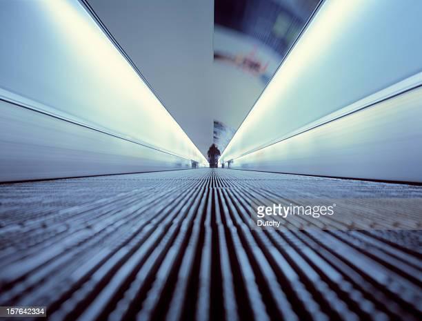 Moving walkway to eternity