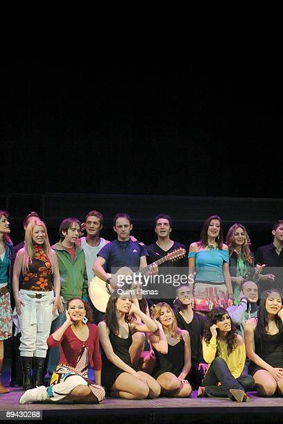 Movistar Theatre Madrid General dress rehearsal of musical 'Hoy no me puedo levantar' with direction of Nacho Cano