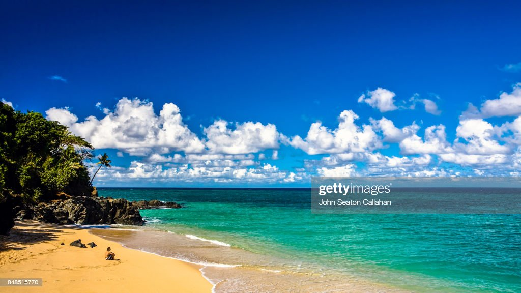 Moya Beach, on Anjouan Island : Stock Photo