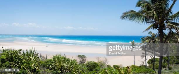 Mozambican beach scene.