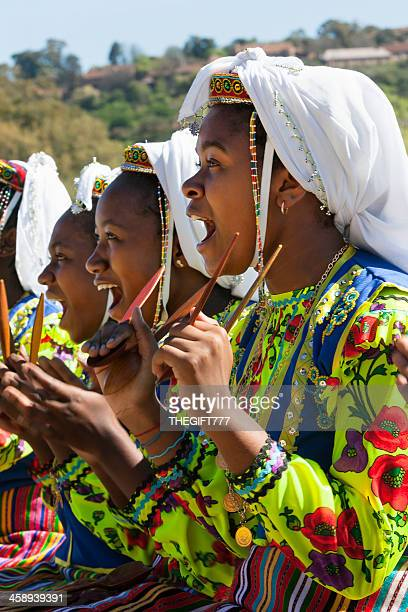 mozambican girls cheering - mozambique stock pictures, royalty-free photos & images