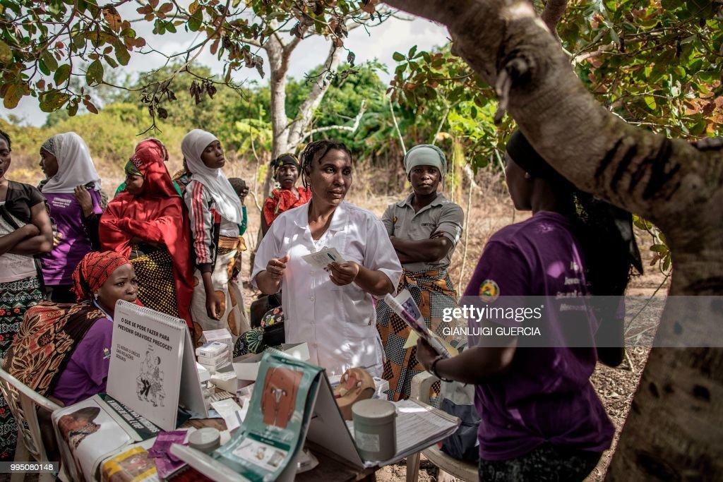 DOUNIAMAG-MOZAMBIQUE-HEALTH-RIGHTS-DEMOGRAPHY-UNFPA : Nachrichtenfoto