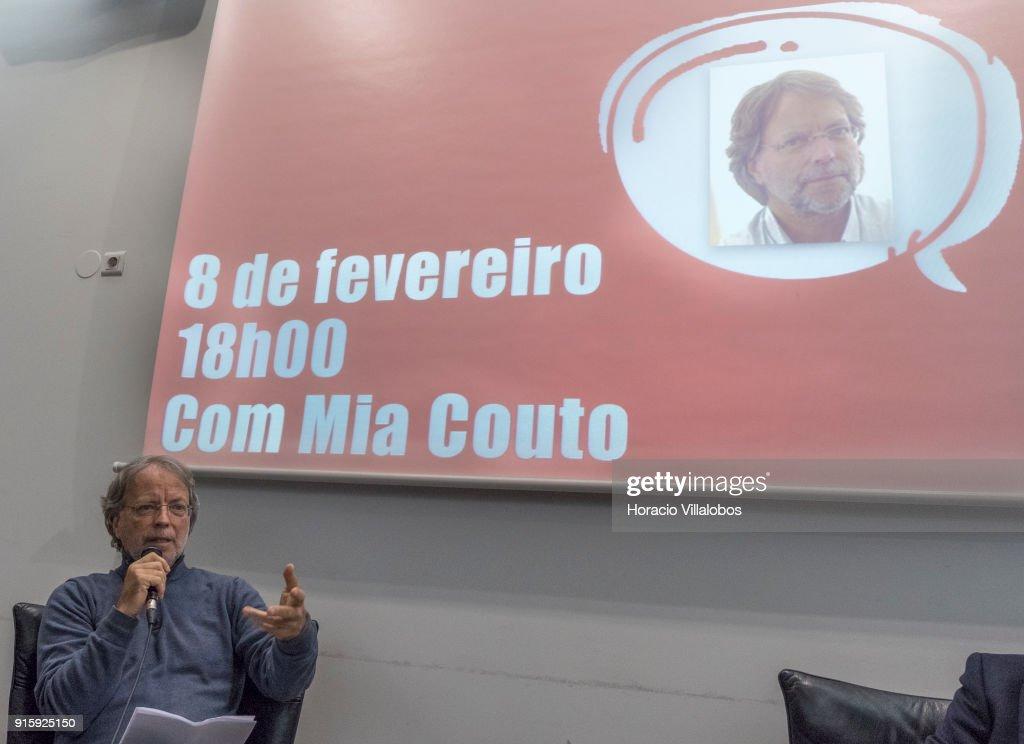 "Mozambican Writer Mia Couto at ""Camoes Da Que Falar"" Program Of Conferences : News Photo"