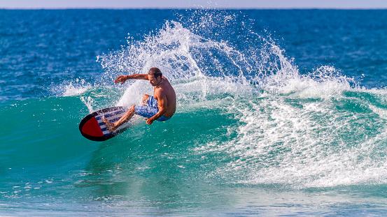 Mozambique, Angoche Island, surfing - gettyimageskorea
