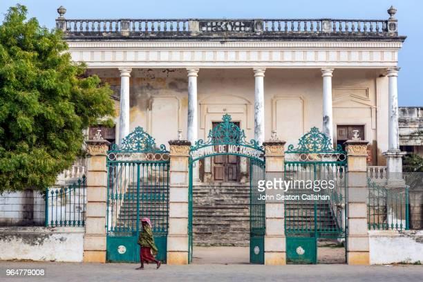 mozambique island, the hospital de moçambique - ナンプラ ストックフォトと画像