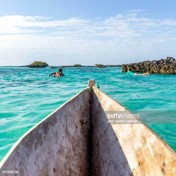 mozambique, mossuril district, surfers - mozambique stock pictures, royalty-free photos & images
