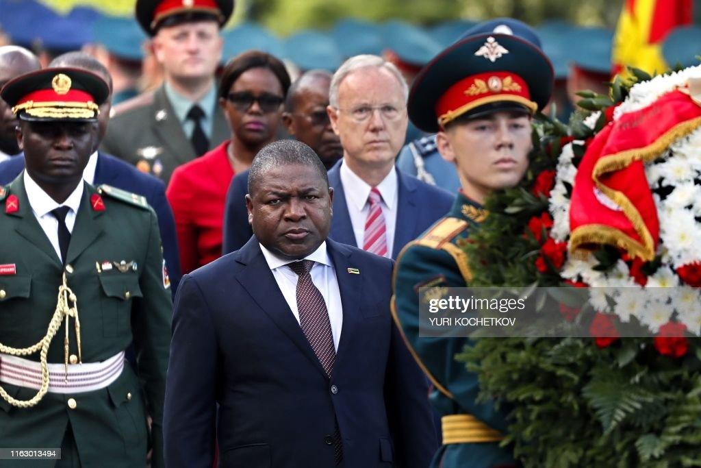 RUSSIA-MOZAMBIQUE-DIPLOMACY-POLITICS : News Photo
