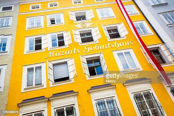 Mozart lugar de nacimiento Geburtshaus Salzburgo Austria