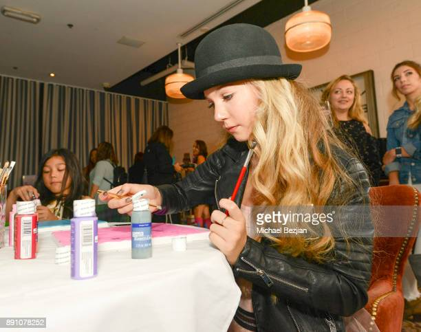 Mozart Dee attends Girl Guild Debuts with a Strong Mission and Support of Young Influencers at Palihouse West Hollywood on November 19 2017 in West...