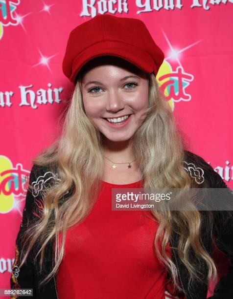 Mozart Dee attends social media influencer Annie LeBlanc's 13th birthday party at Calamigos Beach Club on December 9 2017 in Malibu California