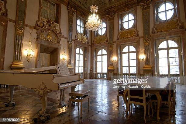 Mozart first played at the age of six at the Marmorsaal which is still used as a concert hall today