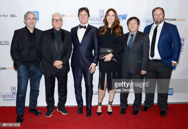'Mozart in the Jungle' executive producer and director Paul Weitz actor Malcolm McDowell violinist Joshua Bell actress Saffron Burrows actor Masi Oka...