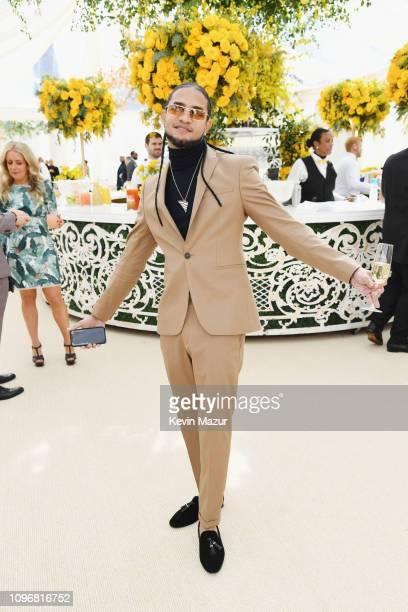 Mozart La Para attends 2019 Roc Nation THE BRUNCH on February 9 2019 in Los Angeles California