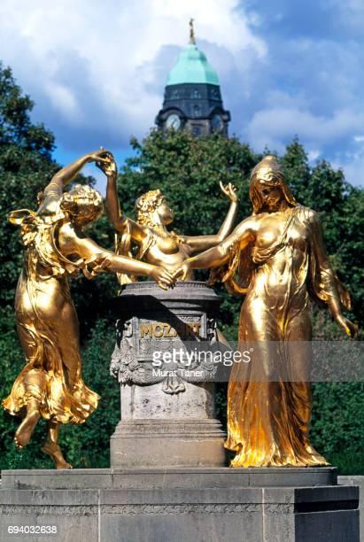 Mozart Monument in Dresden