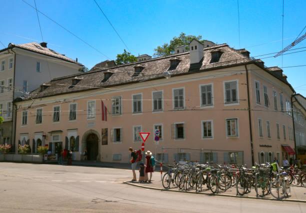 Mozart residence in hometown of Salzburg, Austria