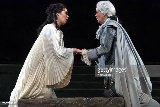 Mozart's 'Idomeneo' at the Metropolitan Opera House on Friday, March 3, 2017. This image: Nadine Sierra as Ilia, left, and Alice Coote as Idamante....