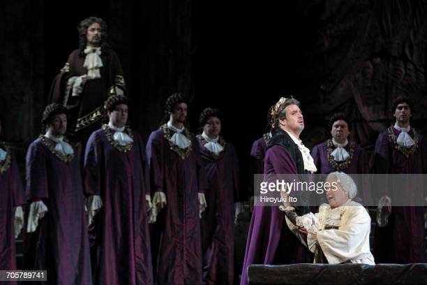 Mozart's 'Idomeneo' at the Metropolitan Opera House on Friday, March 3, 2017. This image: Matthew Polenzani as Idomeneo, left, and Alice Coote as...