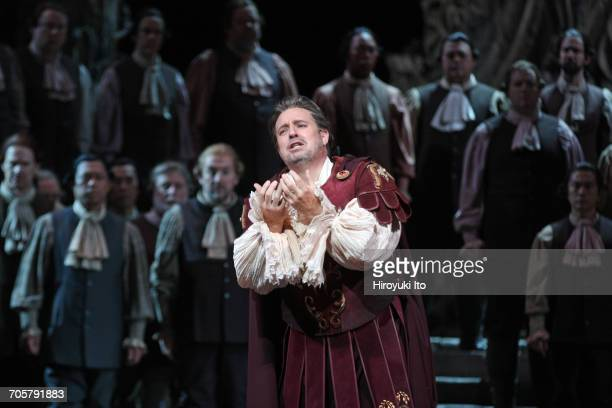 Mozart's 'Idomeneo' at the Metropolitan Opera House on Friday, March 3, 2017. This image: Matthew Polenzani as Idomeneo. Production by Jean-Pierre...