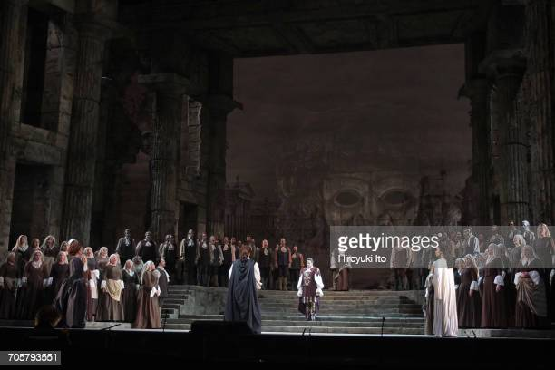 Mozart's 'Idomeneo' at the Metropolitan Opera House on Friday, March 3, 2017. This image: A scene from 'Idomeneo.' Production by Jean-Pierre...