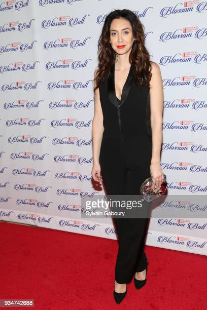 Mozhan Marno attends The Endometriosis Foundation of America Celebrates their 9th Annual Blossom Ball Honoring SingerSongwriter Halsey on March 19...