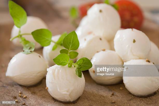 Mozzarella and herbs