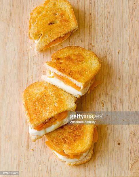 Mozzarella Apricot Grilled Cheese Sandwich