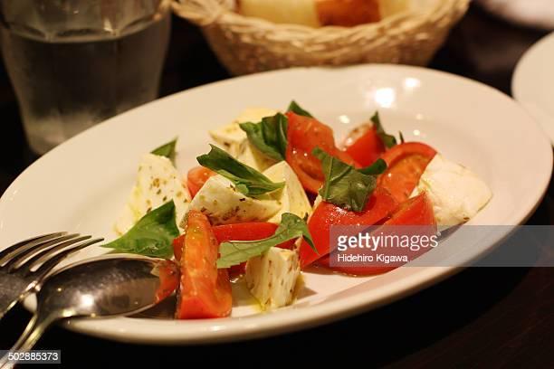 Mozzarella Cheese and Tomato