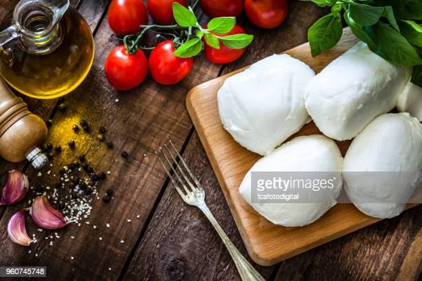 mozzarella cheese - mozzarella stock photos and pictures