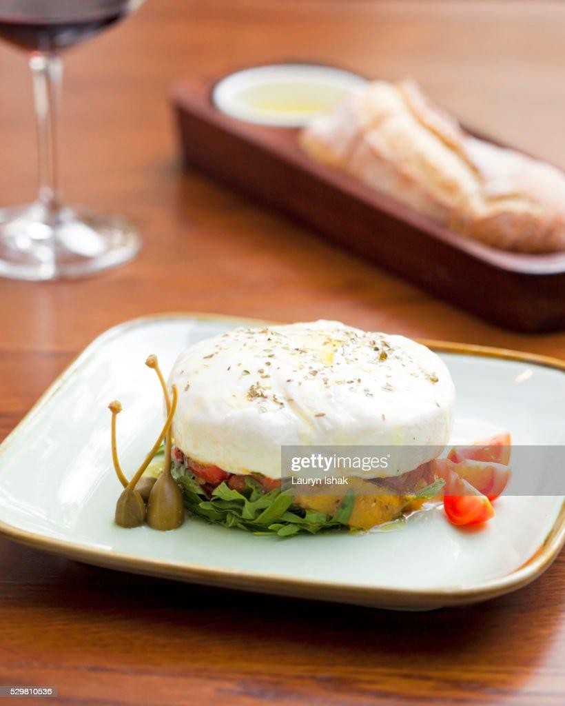 Mozzarella : Stock Photo