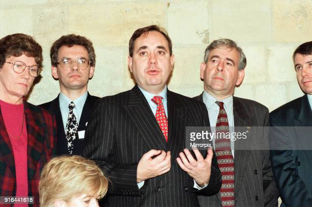 MPs including SNP's Alex Salmond who support ban on firearms after the Dunblane massacre team up with police and children's parents to call for a...