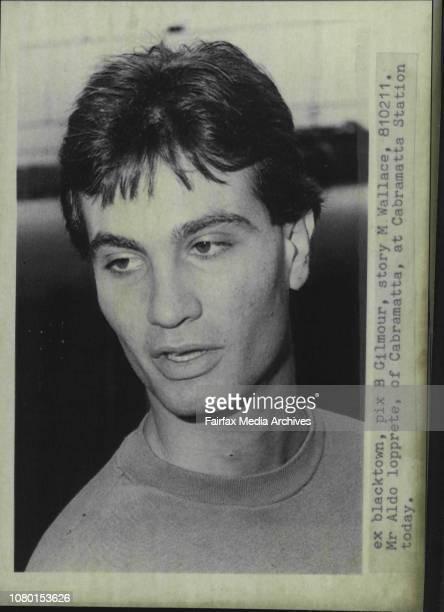 Mr Aldo Lopprete of Cabramatta at Cabramatta Station today February 11 1981