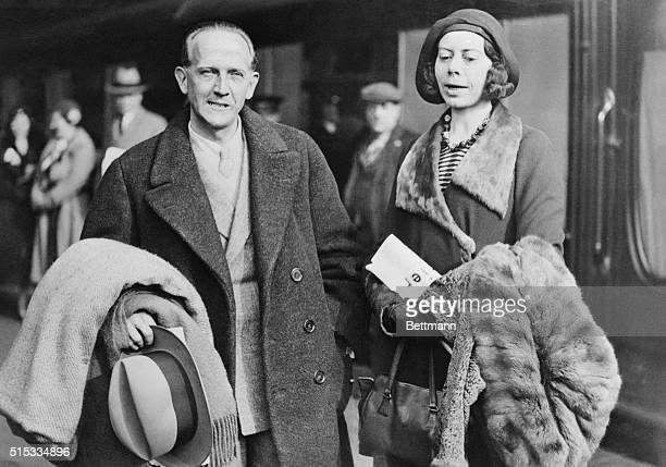 Mr and Mrs AA Milne enjoying a day out Alan Alexander Milne is the author of the childhood classic Winnie the Pooh