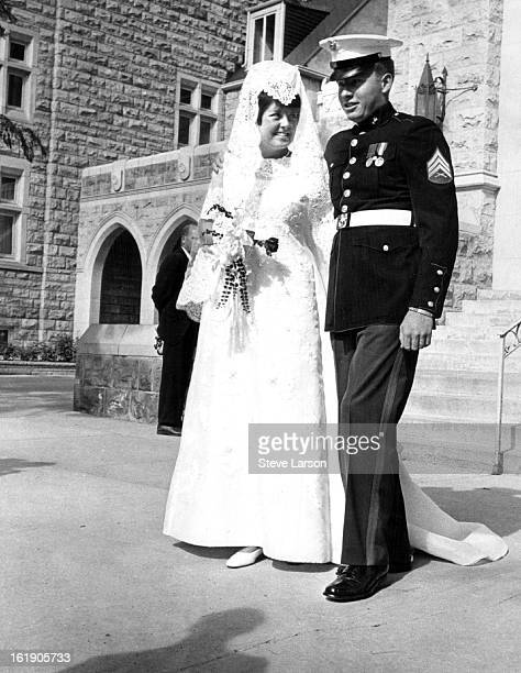 AUG 27 1967 AUG 28 1967 Mr and Mrs Adolph Coors IV Miss Betty Jane McCullough wed Adolph Coors IV in Saturday rites at Montview Boulevard...
