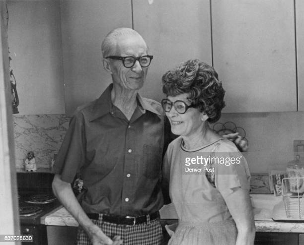 Mr and Mrs Claude Hamon Give Recipe Answering the poll jointly they said 'ingredients to a happy marriage love humility courtesy to each other mutual...